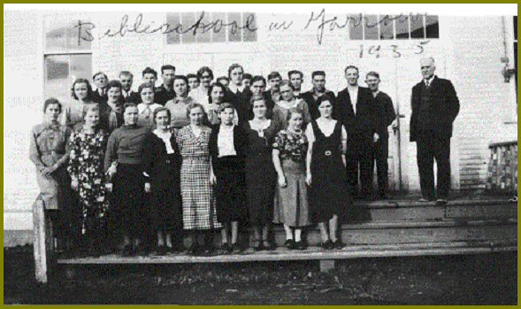Yarrow Bible School 1934-35