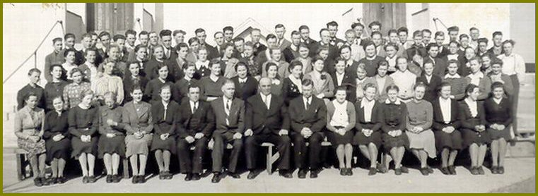 Elim Bible School 1940-41
