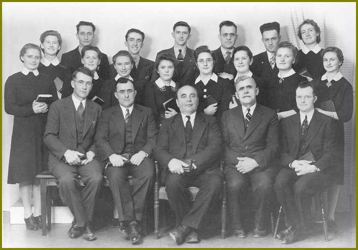 Graduating Class Yarrow Elim Bible School 1942-43