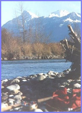 Mount Cheam from the Vedder River