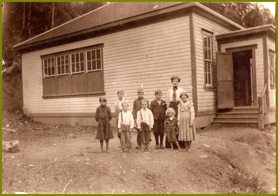 Majuba Hill School - 1905